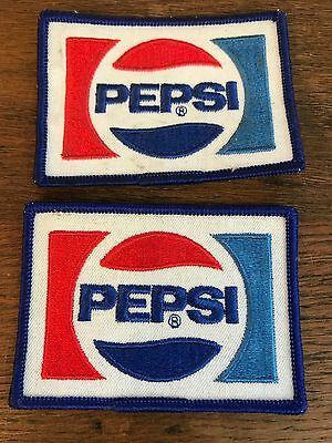 Vintage 1980's Pepsi Cola Pepsi Soda Delivery Driver Embroidered Sew on Patch