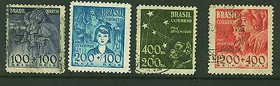 Brazil - 1939 Child Welfare 627/30 - Used