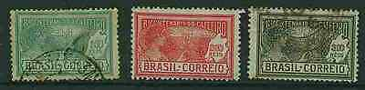 Brazil - 1928 Coffee Bicentenary 457/9 - Used
