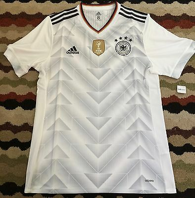 GERMANY FIFA CONFEDERATIONS CUP 2017 PLAYER ISSUE JERSEY-Size-L-XL