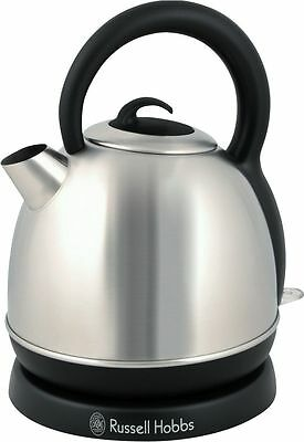 Last Two Russell Hobbs Eden Dome Stainless Steel Kettle 2200W 1.8 Litre RHK4W