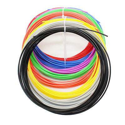 10 Colors Pack 100M 3D Printer PLA Filament 1.75mm Crafting For RepRap MarkerBot