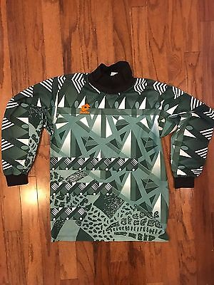 Vintage Lotto Goalkeeper Shirt Jersey Size M Rare Vtg Made In Italy 80S 90S