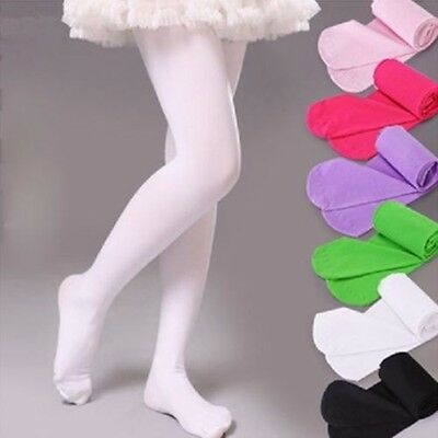 USA Girls Kids Tights Pantyhose Stockings Soft Stretch Velvet Ballet Dance Socks