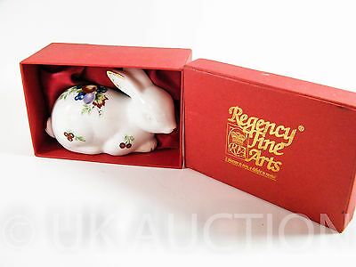 The Orchard Collection 2002 Regency Fine Arts Boxed White Rabbit Collectable