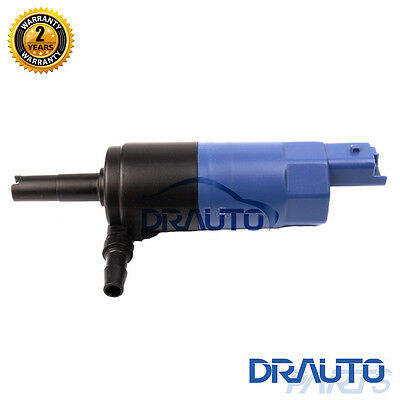 Headlight Cleaning Washer Pump For Peugeot 307 RENAULT 643477 96422180 & Grommet