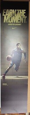 Kyrie Irving Cleveland Cavaliers Used Nike 12X48 Dual Sided Display Sign