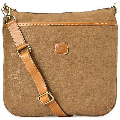 NEW Bric's Life Collection Cindy Camel Brown Bag