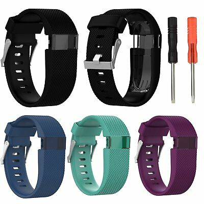 Silicone Replacement Bracelet Band Wrist Strap Wristband For Fitbit Charge HR