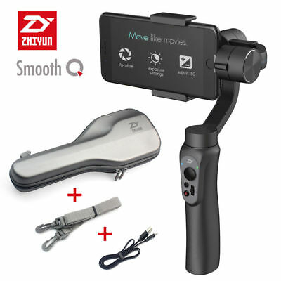 US Ship! Zhiyun Smooth-Q Handheld 3-Axis Gimbal Stabilizer for Smartphone iPhone