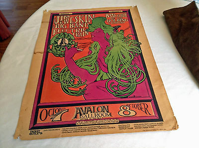 Jim Kweskin Jug Band & Big Brother & The Holding Company Family Dog Poster