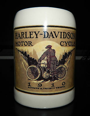 1996 Harley Davidson 1910 Advertising Stein Mug Milwaukee, WI