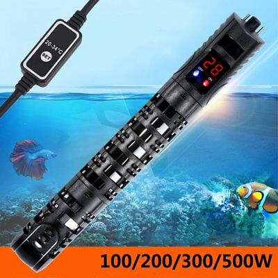 Digital Submersible Aquarium Heater Stick 50W upto 500W Fish Tank Thermostat UK