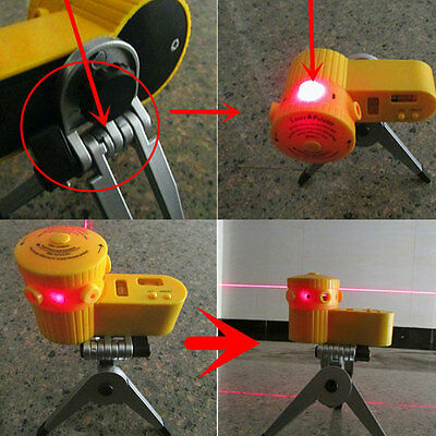 Multifunction Laser Level Tool With Tripod Useful Home Wires Equipment
