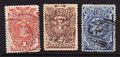 Chile 1880 Postal Fiscals - Used