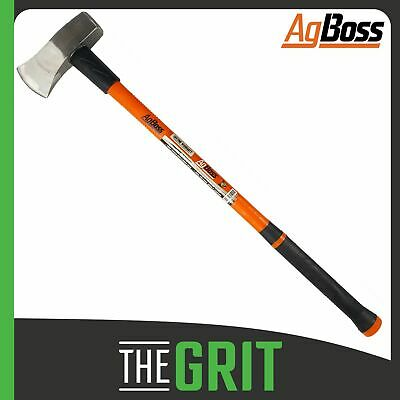 AgBoss 2.5kg Fibreglass Handle Block Splitter Camping Axe Firewood Log Piling