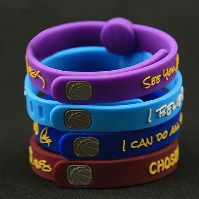 Basketball Bracelet adjustable Wristband Strap CURRY LEBRON JAMES BRYANT DURANT