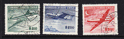Chile  -1955 Airmails Foreign No Watermark Issues