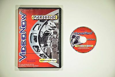 "VideoNow Zoids ""Awakening Dragon"" - VideoNow Personal Video Player Disc and Case"