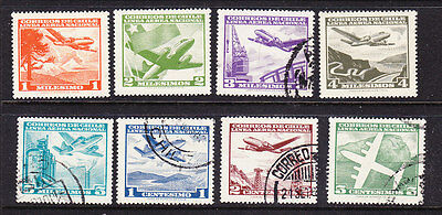 Chile  -1960 Airmails Issues