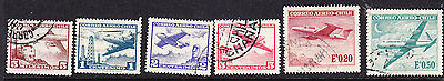 Chile  -1961 Airmails Issues