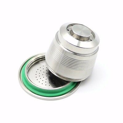 Stainless Steel Compatible for Nespresso Machine Reusable Refillable Capsule
