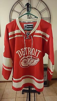 Official Detroit Red Wings Winter Classic Pavel Datsyuk Premier Jersey (Y/xl)