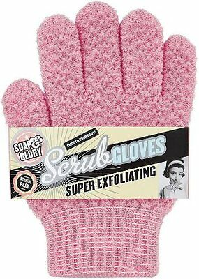 Soap And Glory Super Exfoliating Scrub Gloves One Size