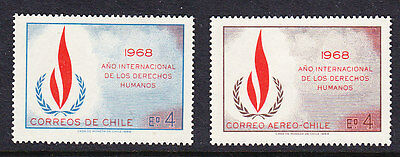 Chile - 1968 Human Rights Year MH