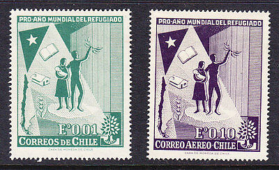 Chile - 1960 World Refugee Year MH