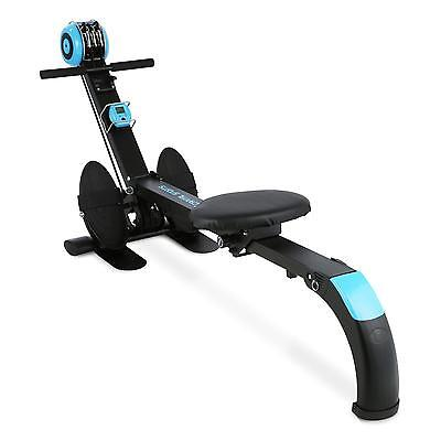 Capital Sport Stringmaster Rowing Machine Bench Fitness Solid Training Pc Blue