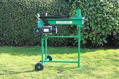 J&H Logs Professional Firewood 5 Ton Heavy Duty Electric Log Splitter & Stand