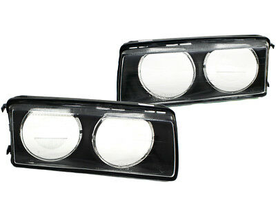 92-99 Bmw E36 3-Series Zkw-Type Replacement Glass Lenses - Left / Right Set
