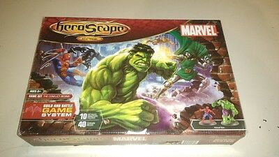 HEROSCAPE MARVEL''The conflict begins'' COMPLETE WITH SEALED PARTS