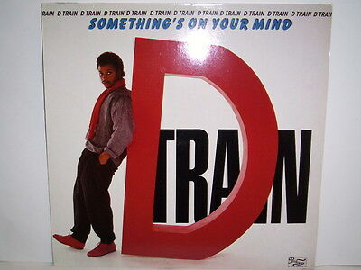 D Train Somthings On Your Mind Uk Copy Vinyl Record