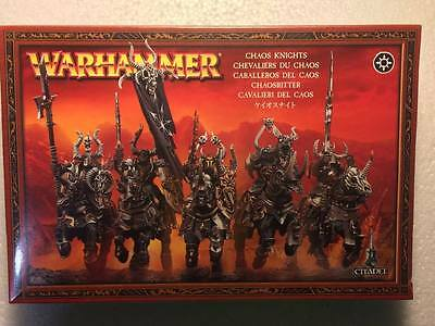 Warhammer Chaos Knights - Caballeros del Caos - Sealed - New - OOP