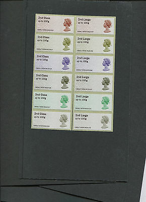 Only seller Enquiry Office  ERROR 2nd & LARGE Post & Go 50th Machin Anniversary
