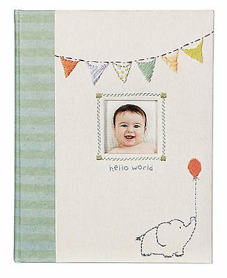CR Gibson Baby's First Memory Book / Journal (Made with Love)
