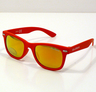 Doubleice Occhiali Da Sole Per Bambino Kids Flash Red Sunglasses Baby +4 Anni
