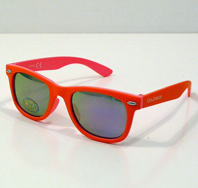 Doubleice Occhiali Da Sole Per Bambino Kids Flash Orange Sunglasses Baby +4 Anni