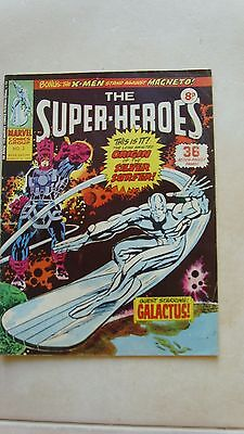 Marvel THE SUPERHEROES original comic RARE SECOND ISSUE March 1975