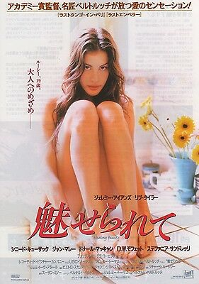 Stealing Beauty - Original Japanese Chirashi Mini Poster 25 x 18cm - Liv Tyler