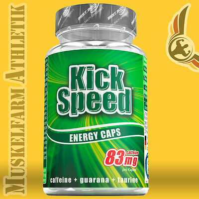 Best Body Nutrition Kick Speed Kapseln - 60 Kapseln Dose - BBN Kickspeed Caps
