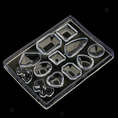 Cabochon Silicone Earring Necklace Pendant Mold for Resin Jewelry Making DIY