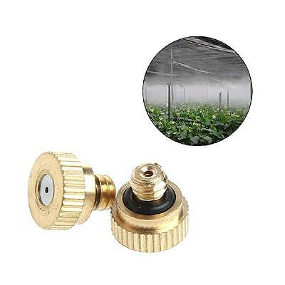 Low Pressure Mister Misting Spray 0.6mm 0.8mm Nozzle Plug Anti Drip Garden 1Pc