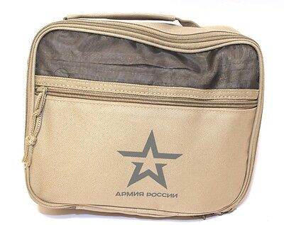 Russian army travel bag toiletry Bag with 18 item army kit for travel