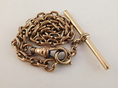 Gold Filled Watch Chain Fob Vintage Gf