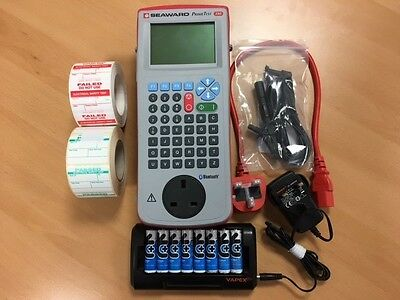 Seaward Primetest 350 PAT Tester New keyboard and screen fitted