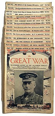 The Great WarThe Standard History Of The All Europe Conflict H W Wilson 15 books