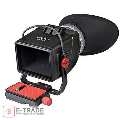 Voking 3x Zoom VK-VF1 Comfort LCD View Finder for 3 3.2-Inch Screen with Metal S